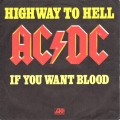 AC/DC Highway To Hell (Single)