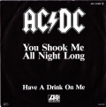 AC/DC You Shook Me All Night Long