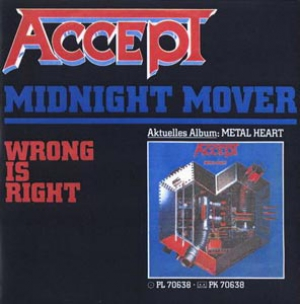 Accept - Midnight Mover (Single)
