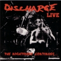 Discharge - Live - The Nightmare Continues