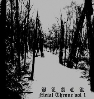 Slaughtered Priest - Black Metal Throne vol. 1