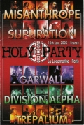 Supuration - The Holy Party Misanthrope / Supuration / Garwall / Trepalium