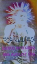 The Casualties - Blackpool Winter Gardens 10th August 1996
