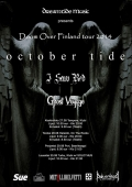 October Tide, Ghost Voyage, I Saw Red // Doom Over Finland Tour 2014