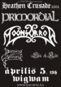 Primordial, Moonsorrow, Mourning Beloveth, Sin of Kain