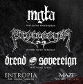 Mgła, Procession, Dread Sovereign, Entropia, Maze