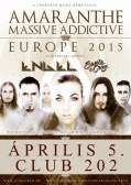 Amaranthe - Massive Addictive Europe 2015