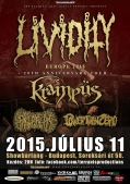 Lividity - 20 Year Anniversary Gore Tour