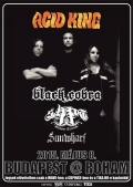 Acid King, Black Cobra, Shapat Terror, Sunwharf
