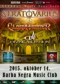 Stratovarius - Eternal World Tour 2015
