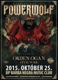 Powerwolf, Orden Ogan, Civil War