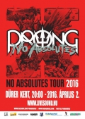 X-No Absolutes Tour 2016