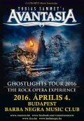 Ghostlights Tour 2016 - The Rock Opera Experience