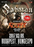 Sabaton - The Last Tour 2017