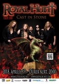 Royal Hunt - Cast in Stone Tour 2018