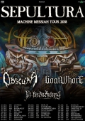 Machine Messiah Tour 2018