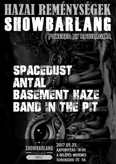 Antal, Band in the Pit, Basement Haze, SpaceDust
