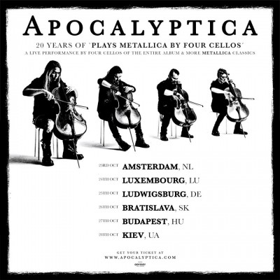20 Years Of Plays Metallica By Four Cello