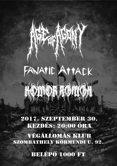 Age of Agony, Fanatic Attack, KomoRRomok