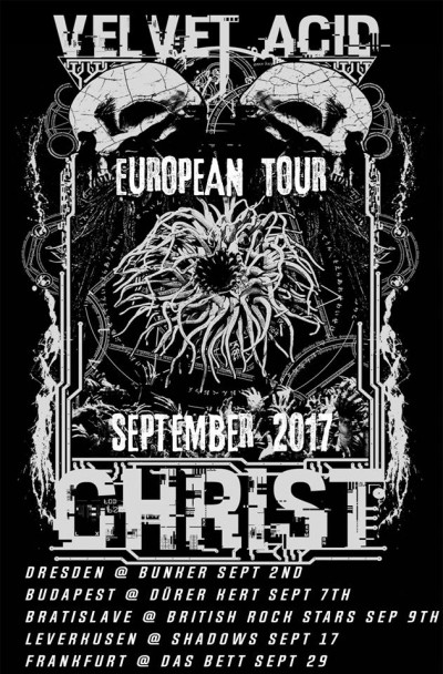 Velvet Acid Christ - European Tour 2017