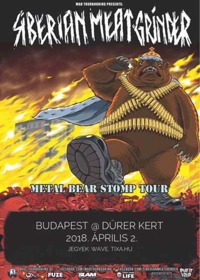 Metal Bear Stomp Tour 2018