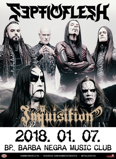 SepticFlesh, Inquisition, Odius, Sear Bliss, Christian Epidemic