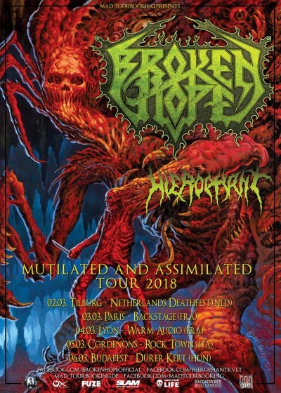 Mutilated And Assimilated Tour 2018