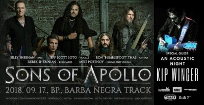 Sons of Apollo, Kip Winger