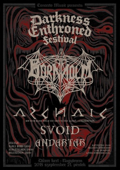Drakness Enthroned Festival