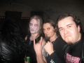 The Marduk drumer,Cz and me