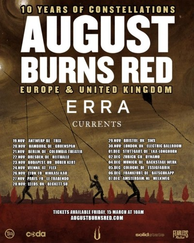 August Burns Red, Erra, Currents