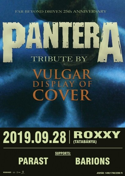 Vulgar Display of Cover, Parast, Barions