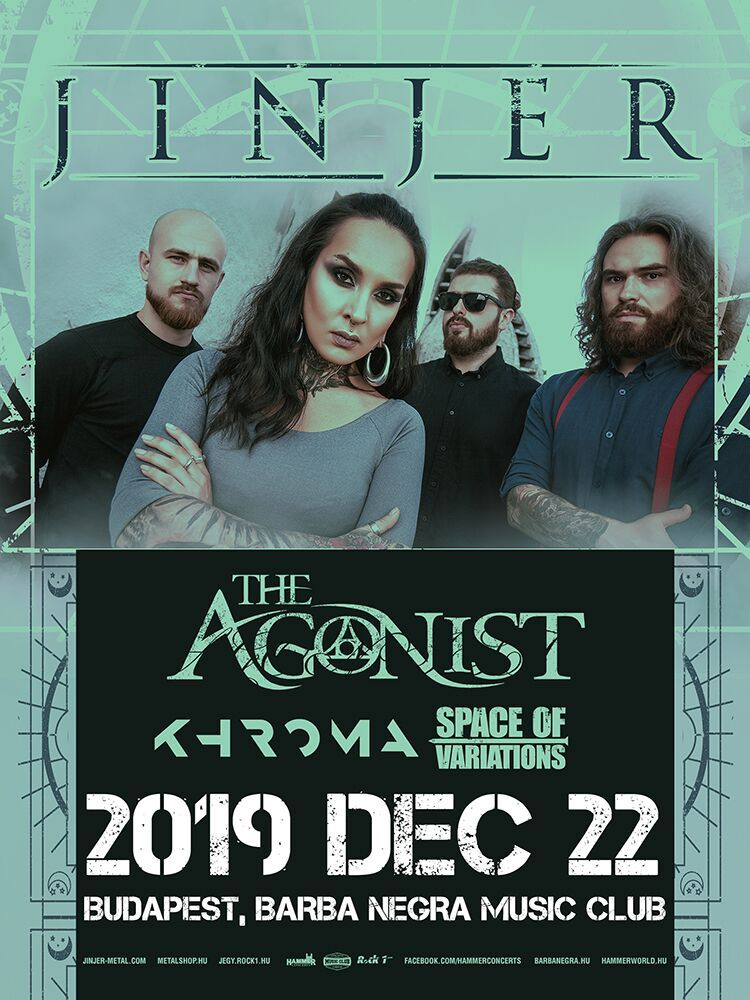 Jinjer, The Agonist, Khroma, Space of Variations