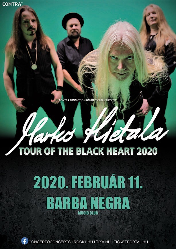 Tour of the Black Heart - Europe 2020