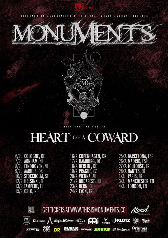 Monuments, Heart of a Coward