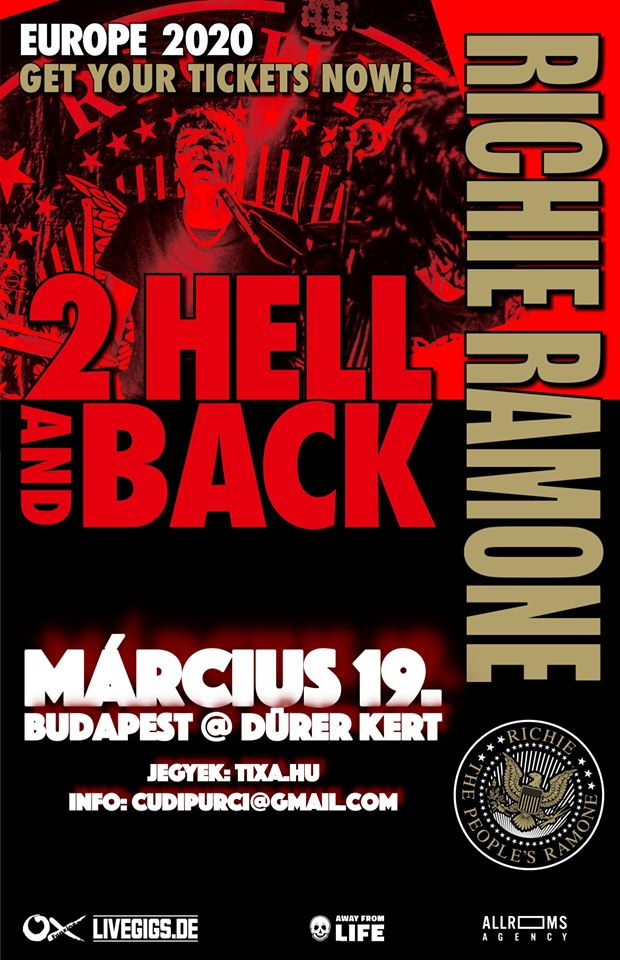 Richie Ramone - 2 Hell and Back