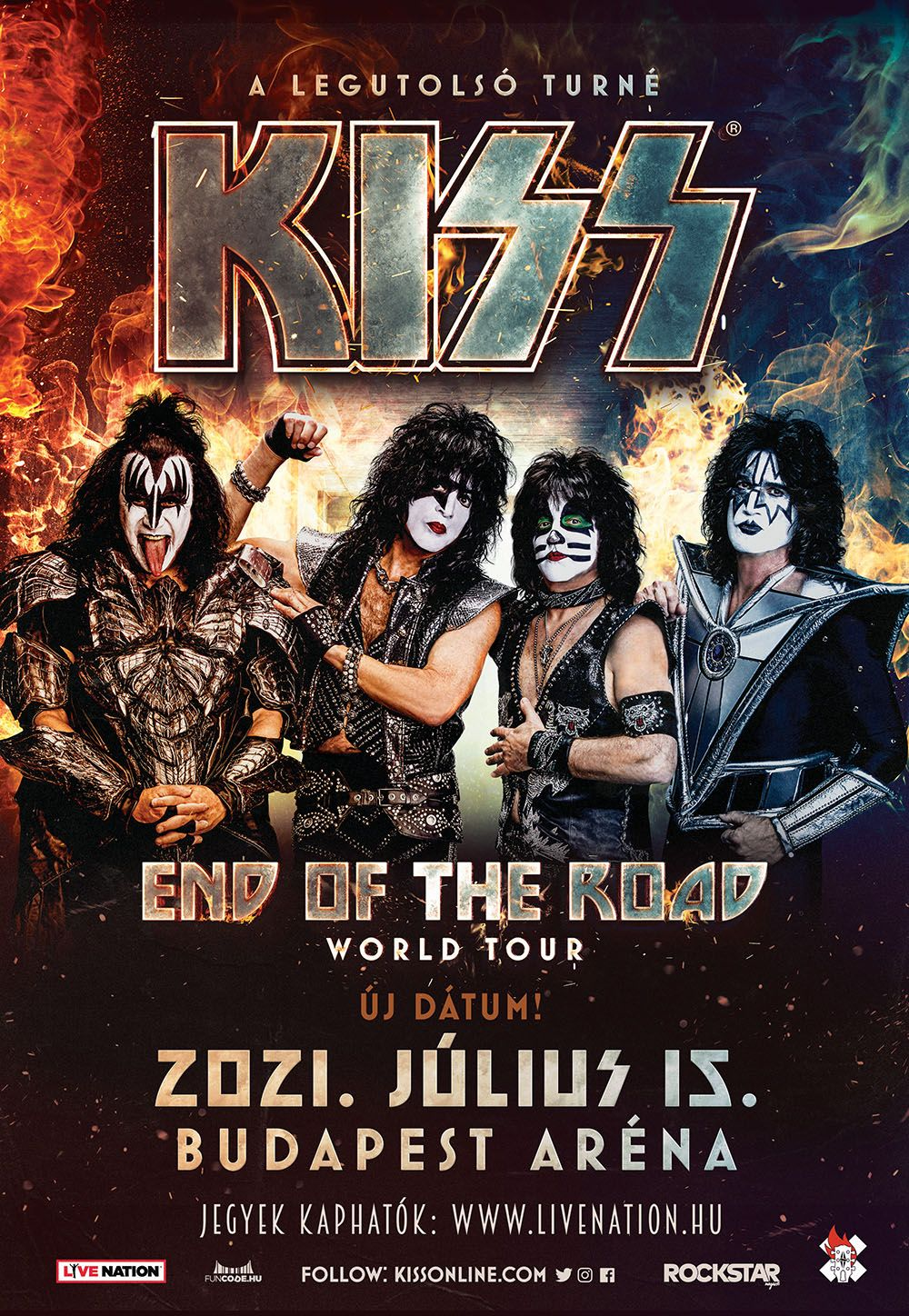 End of the Road World Tour 2021