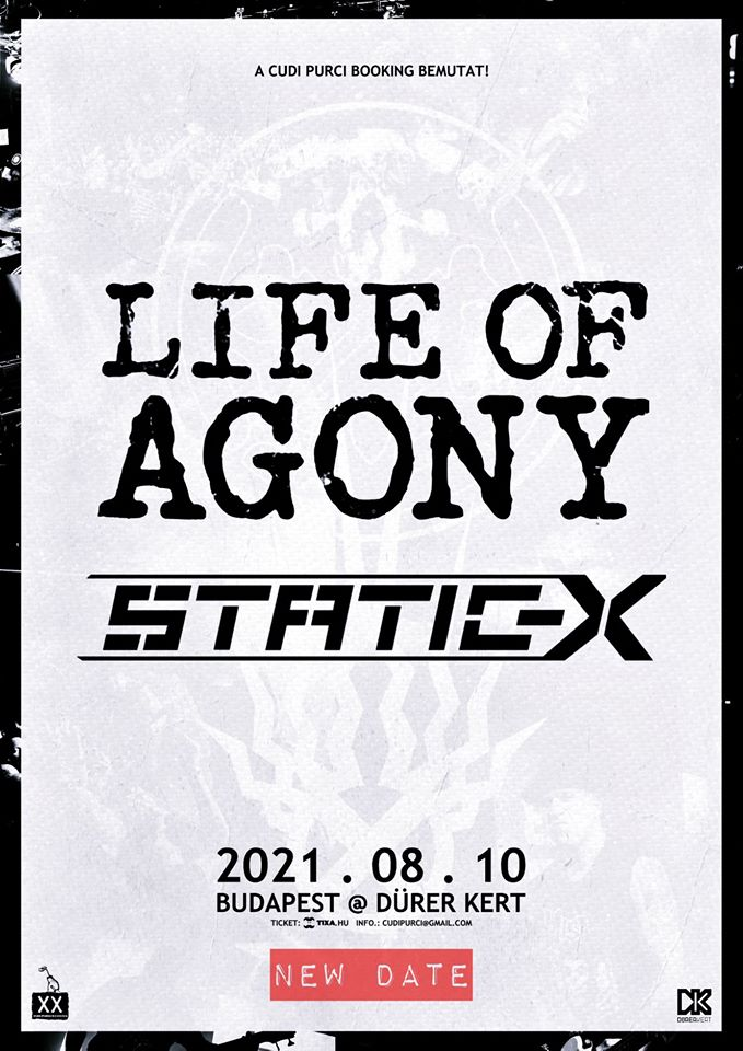 Life of Agony, Static-X