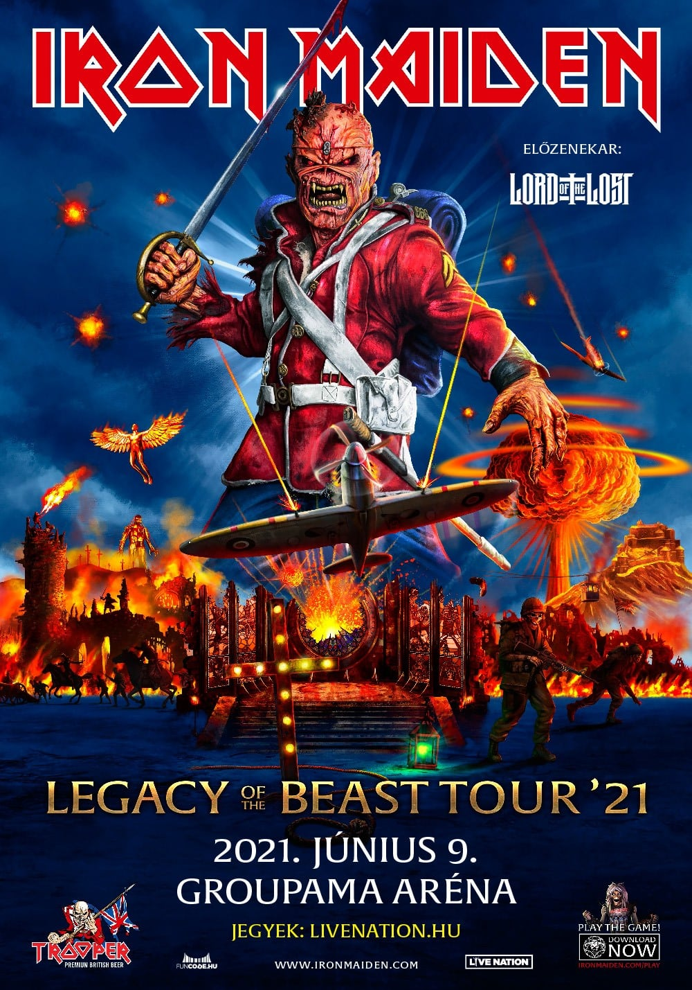 Legacy of the Beast Tour '21