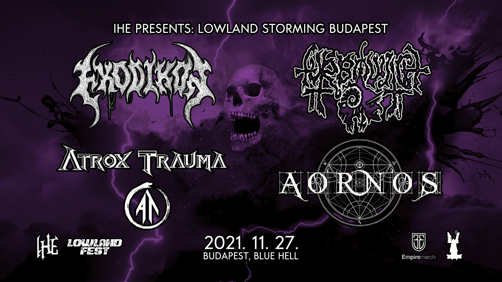 Lowland Storming Budapest